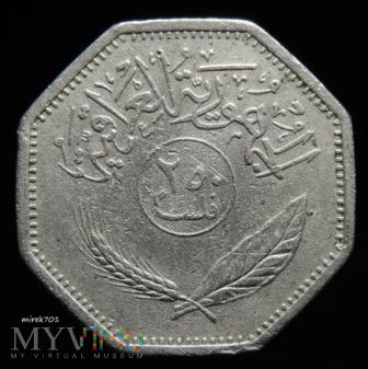 Irak 250 filsów 1980