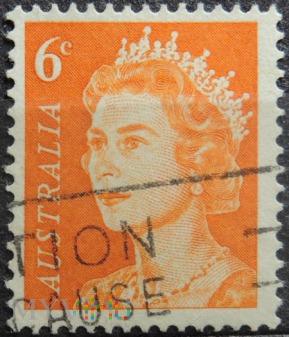Australia 6c Elżbieta II
