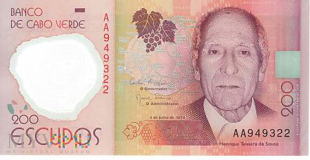 Republika Zielonego Przylądka - 200 escudos (2014)