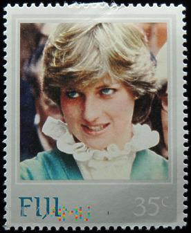 Fidżi 35c księżna Walii Diana