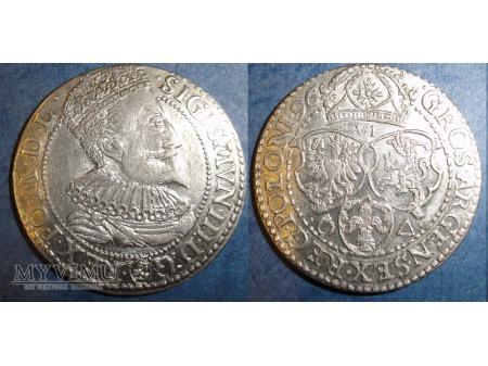 Szóstak 1596 Zygmunt III Waza
