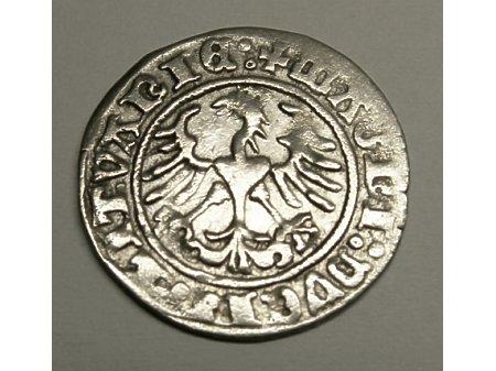 Półgrosz litewski-1511 r