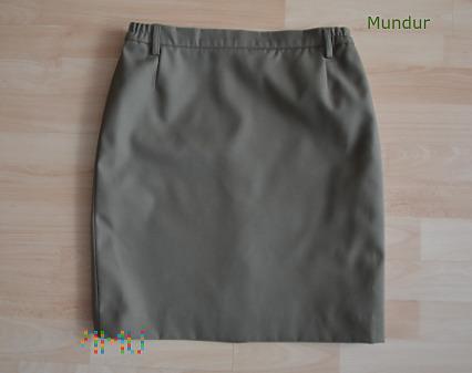 Mundur wyjściowy Straży Granicznej - spódnica