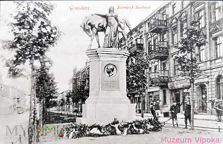 Duże zdjęcie Grudziądz (Graudenz) - Otto von Bismarck (1915)