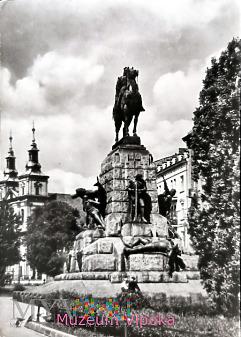 Kraków - pomnik konny Jagiełły (1976)