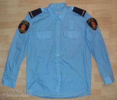 Niebieska koszula Straży Miejskiej