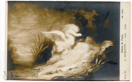 Anquetin - Leda z łabędziem
