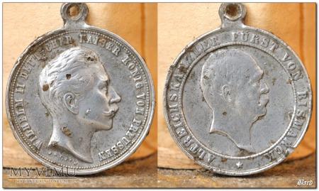 Medal koronacyjny - Wilhelm II