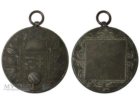 Duże zdjęcie Węgierska Federacja Piłki Nożnej medal 1947
