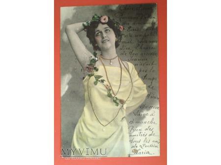 1901 Lina CAVALIERI OPERA pierwsze gwiazdy