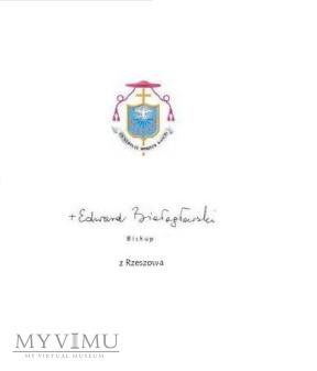 Autograf od Bp. Białogłowskiego