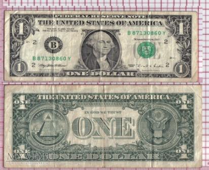1 DOLAR USA- 1995