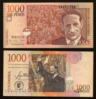 Colombia - P 450 - 1000 Pesos - 2003