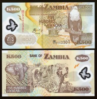 Zambia - P 43d - 500 Kwacha - 2005