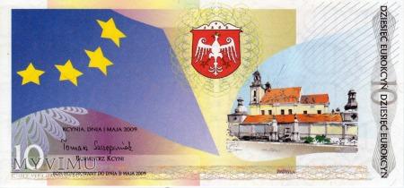 Bon Miejski : 10 Eurokcyń