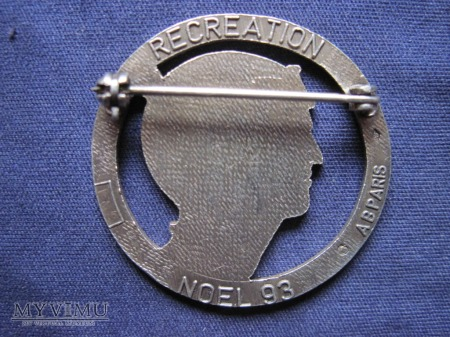 5e escadron du 1er R.E.C. Noel 1993