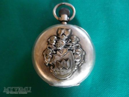 h.Abdank-zegarek kieszonkowy srebro z h.Abdank