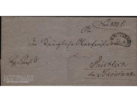 Duże zdjęcie List-Polowa XIX wieku #4