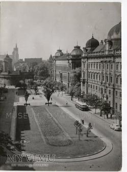 Kraków - Plac J.Matejki - lata 60-te