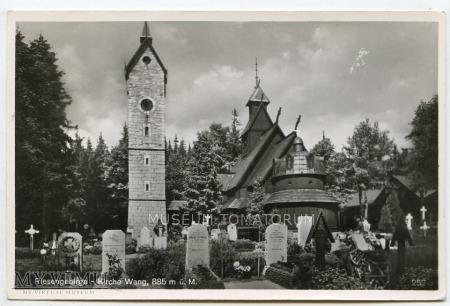 Karkonosze - Bierutowice, Świątynia Wang - 1930/40