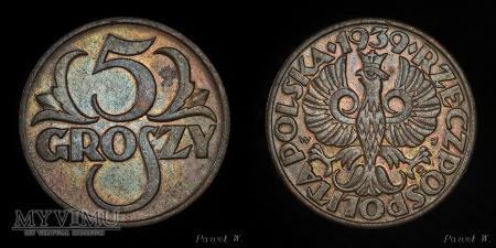 Polska - 1939 - 5 groszy