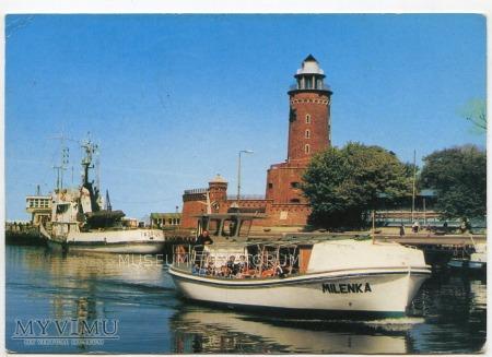 Kołobrzeg - port - 1990 ok.