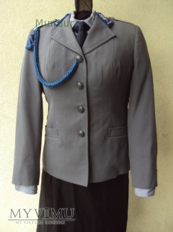 Mundur służbowy podoficera MO kobiety