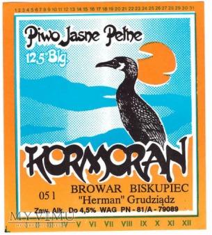 Bieskupiec, kormoran