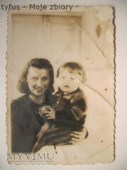 Babcia i mój ojciec. Zaświadczenie.