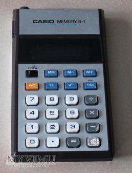 CASIO MEMORY B-1