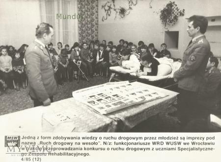 Zdjęcie propagandowe MO: WRD WUSW Wrocław
