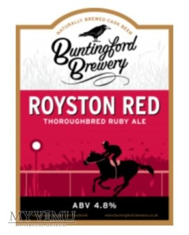 buntingford brewery - royston red