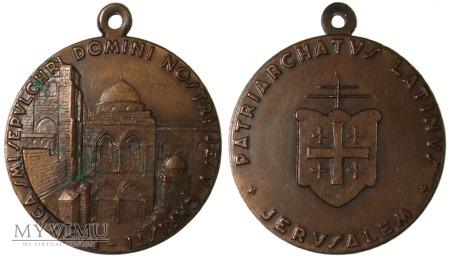 Łaciński Patriarchat Jerozolimy medal