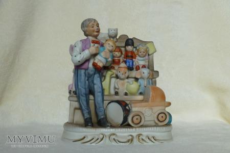 Sprzedawca zabawek
