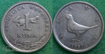 Chorwacja, 1 KUNA 1997