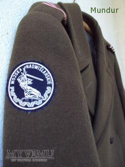 Płaszcz zimowy Nadwiślańskich Jednostek Wojskowych