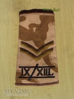 Wieka Brytania-oznaka stopnia: IX/XIIL