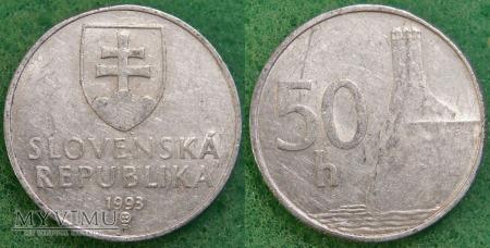 Słowacja, 50 Halierov 1993