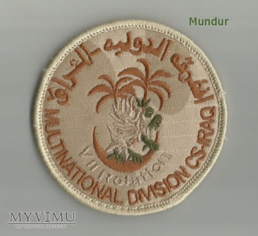 Oznaka misyjna: Multinational Division CS Iraq VII