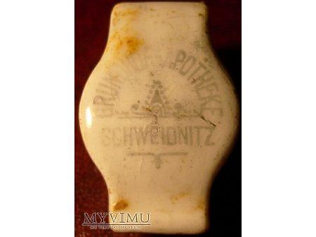 Duże zdjęcie Schweidnitz - porcelanka apteczna-Świdnica