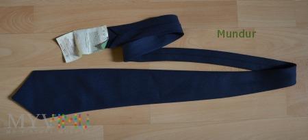 Granatowy krawat Obrony Cywilnej