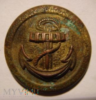 Duże zdjęcie Guzik Kriegsmarine złocony