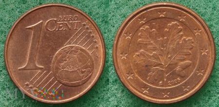 1 EURO CENT 2005 A