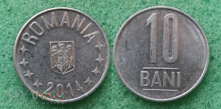 Rumunia, 10 Bani 2014
