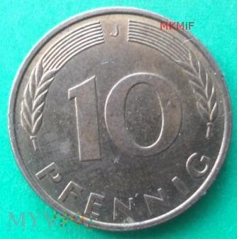 10 Pfennig Niemcy 1993