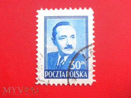 Niebieski Bolesław Bierut