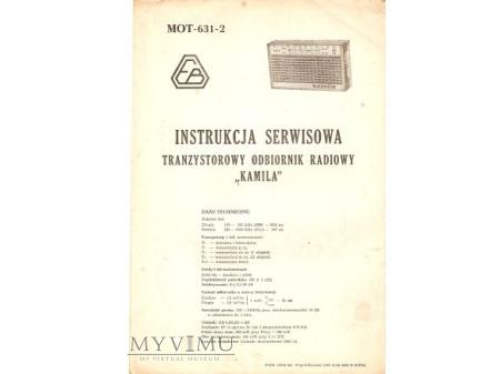 Instrukcja radia KAMILA