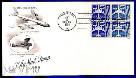 20-USA.1958-KOPERTY LOTNICZE