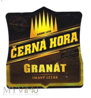 Cerna Hora, granat