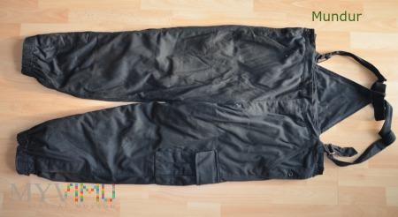 Spodnie zimowe czołgisty WZ 602/MON